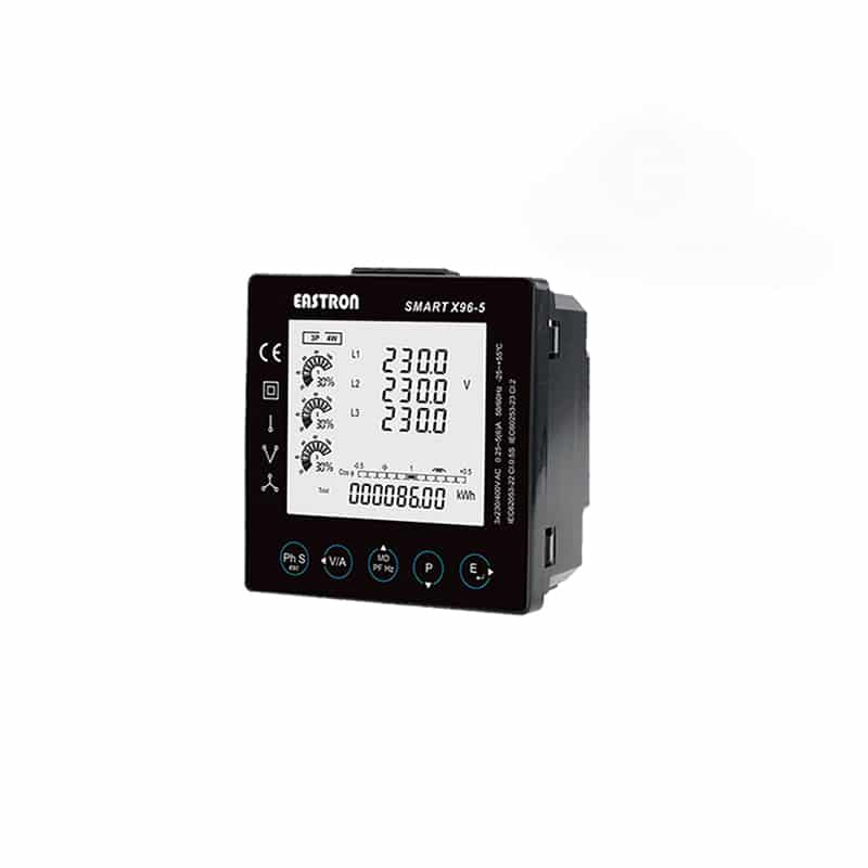 SMART X96-5MP-MID CT Single / Three Phase Digital Multifunction Meter (CT  Operated - Pulse & Modbus Outputs)