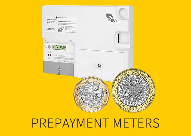 Coin prepayment meters