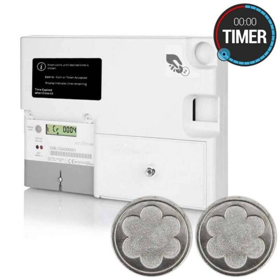 Emlite - EML-TIMER-TOKEN-MID Single Phase Prepayment Token Timer Meter (100A Direct Connect)