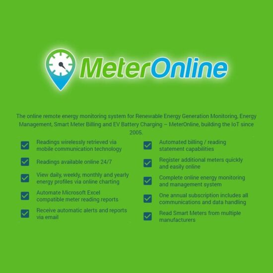 MeterOnline 1yr subscription