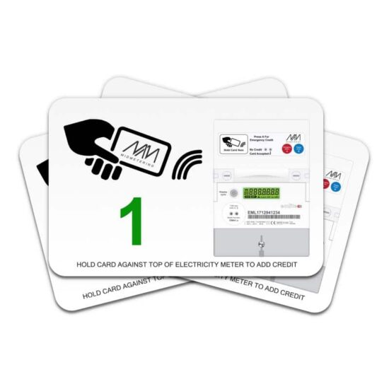 Prepayment card - Value 1