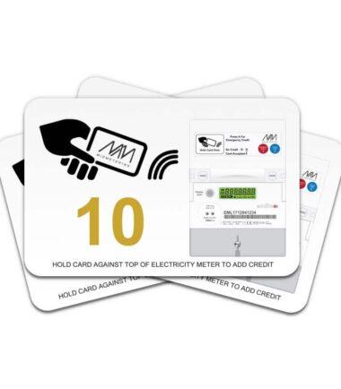 Prepayment card - Value 10