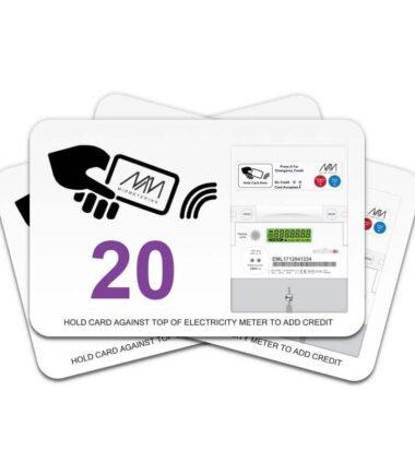 Prepayment card - Value 20