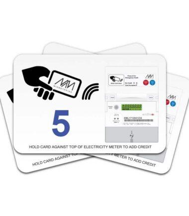 Prepayment card - Value 5