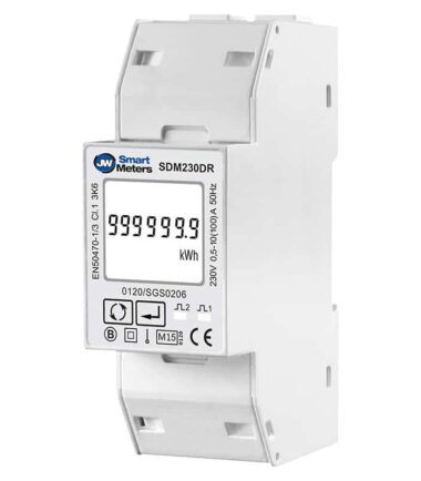 SDM230DR-MID single phase digital kWh meter