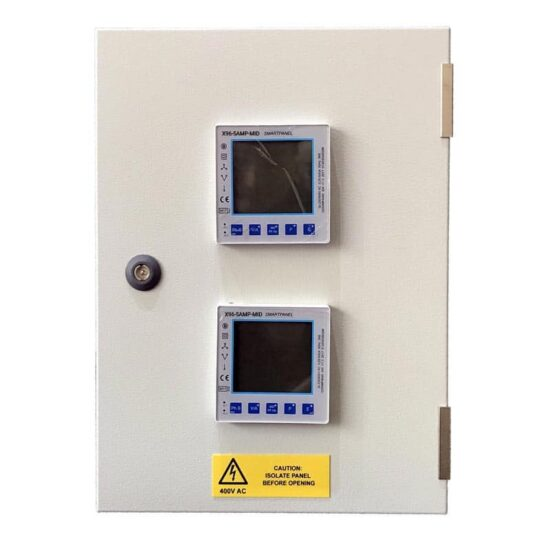 X96-5AMP-MID 2 way panel mounted meter