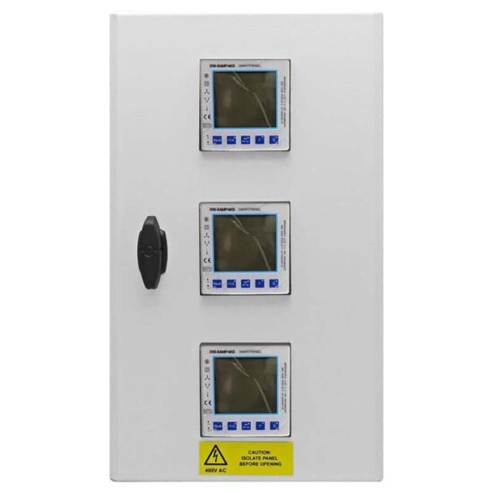 X96-5AMP-MID 3 way panel mounted meter