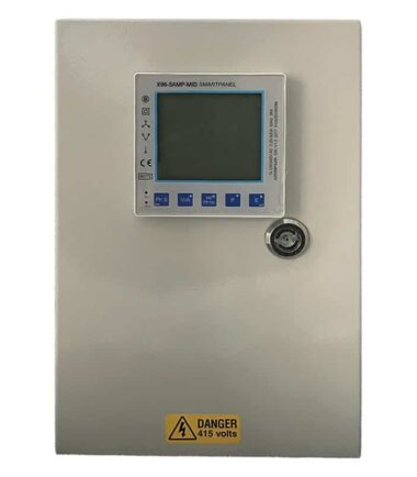 X96-5AMP-MID 1 way panel meter