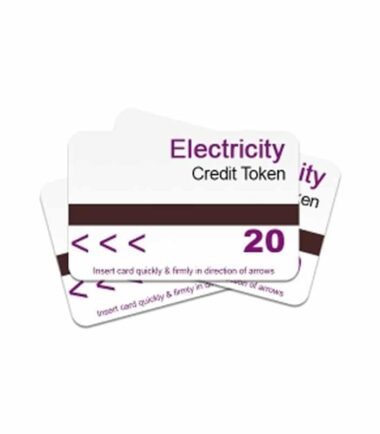 Electricity credit tokens