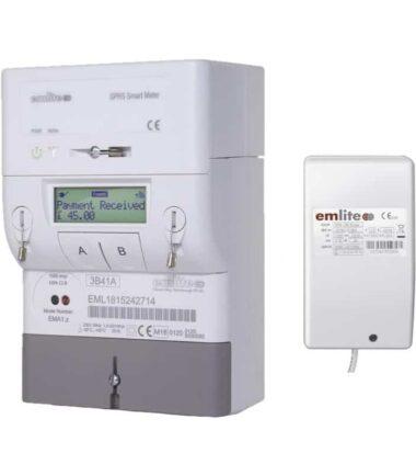 EMA1 top-up meter and gas water sender