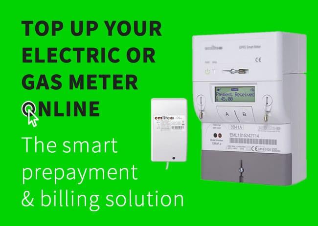 Topup meters