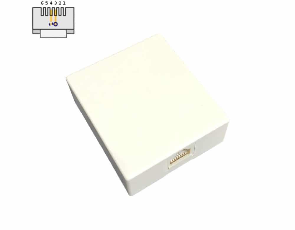 RJ11 box front