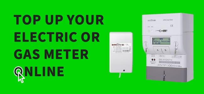 Topup elecitricty meters